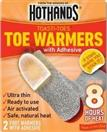 HEATMAX, INC. Coat/Jacket TOE WARMERS WITH ADHESIVE (2 PACK)